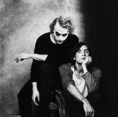 Heath Ledger & Cillian Murphy