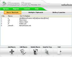 Learn how to create macro shortcuts with Macro Keys and record unlimited macros and clipboard items to automate all of your repetitive tasks. Macro Keys, Macros, Programming, Software, Knowledge, Hands, Drink, American, Create