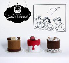 raumdinge: Kaufladenzubehör selbst machen: Nr. 10 – Die kleine Tortenbäckerei