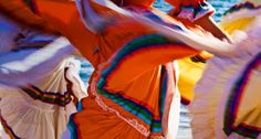 Bing Image Archive: Close-up of traditional dancers in Guaymas, Sonora, Mexico (© Radius/Superstock)(Bing United States)
