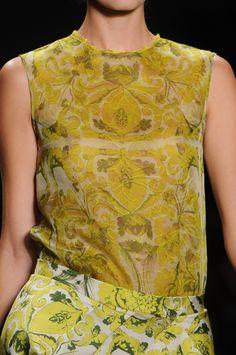 Vera Wang  Spring 2013 Details