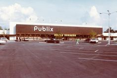 The grand opening of the Village Center Publix in September 1980. Located in Tampa's Carollwood area.