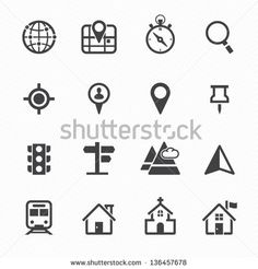 Find Map Icons Location Icons White Background stock images in HD and millions of other royalty-free stock photos, illustrations and vectors in the Shutterstock collection. Thousands of new, high-quality pictures added every day. Free Icon Images, Map Vector, Vector Free, Royalty Free Icons, Royalty Free Stock Photos, Location Icon, Map Icons, Thing 1, Pictogram