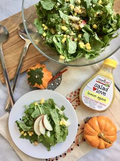 Fall Apple - Quinoa Kale Salad