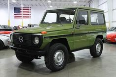 classic mercedes benz G wagon great machine very tough