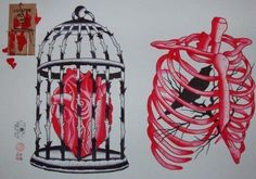 caged heart. caged bird. source: https://www.facebook.com/notes/someone-who-is-like-no-one/odori-dellamore-nella-mente-dolente-tremante-ardente/304583366250166