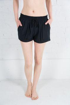 The Lasso Short available online now at sacredtusk.com - $129 CAD Mesh Fabric, Short Dresses, Boyfriend, Color, Shopping, Black, Style, Fashion, Short Gowns