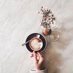 perfect coffee shot