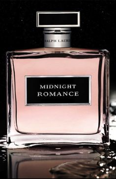 Ralph Lauren's Midnight Romance fragrance is a beautiful contradiction of pink peonies and black vanilla.