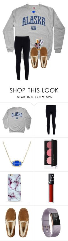 """""""Any book suggestions??"""" by a-devo ❤ liked on Polyvore featuring NIKE, Kendra Scott, NARS Cosmetics, UGG, Fitbit and Tory Burch"""