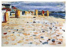 Василий Кандинский. Пляжные корзины в Голландии. 1904
