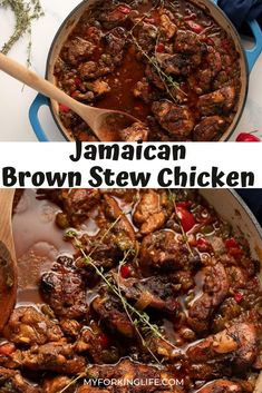 Easy Chicken Recipes, Easy Dinner Recipes, Soup Recipes, Cooking Recipes, Healthy Recipes, Jamaican Cuisine, Jamaican Dishes, Jamaican Recipes, Essen