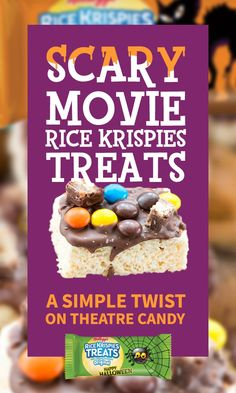 Promoted: Complete your scary movie marathon with candy-topped Rice Krispies Treats.