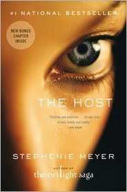The Host. Normally I wouldn't read it, but my mom suggested it and now I'm in love. Good call, Mom.