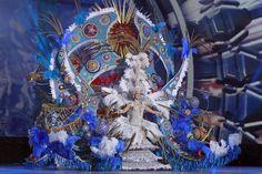 Grupo Mascarada Carnaval: Descripción del traje de reina para ciegos
