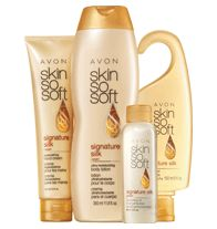 SKIN SO SOFT 4-Piece Signature Silk Silky & Beautiful Collection Summer #fashion look with makeup look that's bold and bright #AvonSummer Get yours www.youravon.com/arettig #avononline #avon #buyavononline #sellavononline #sellavon