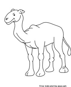 drawings of camels Camels coloring pages Super Coloring