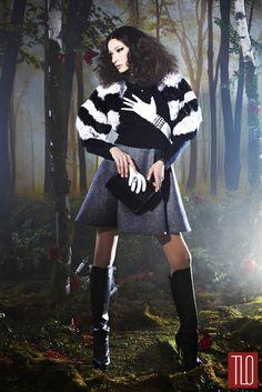 Alice + Olivia Fall 2014 Collection | Tom & Lorenzo Fabulous & Opinionated
