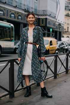 Throw a Floral Duster on Top