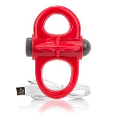 Charged Yoga Rechargeable Reversible Vibe Ring - This unique vibrating ring is made with a special super-stretchy comfort fit that makes it easy to wear without tight constriction, making Charged Yoga a great option for beginner cock ring users and fans of versatility. Incorporate powerful vibration into your favorite sex positions and target stimulation specifically where it counts using the Warrior Control finger loop, which lets users adjust the Yoga's motor without interrupting their…