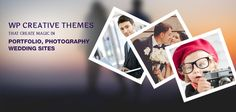 WordPress Creative Themes that create magic in WordPress sites!