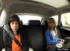 """First """"Bohemian Rhapsody,"""" now this. Two children used their commutes to belt out lyrics to Gotye's hit song """"Somebody That I Used To Know."""""""