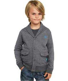 Emma Bunton Boys' Shawl Collar Jersey Cardigan - 5-6 Years. Emma Bunton, 6 Years, Shawl, Boys, Baby Boys, Senior Boys, Sons, Guys, Veils