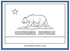State Flag Coloring Pages by USA Facts for Kids  Coloring pages