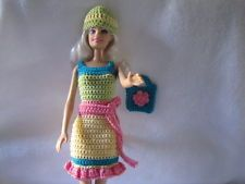 Barbie Doll Clothes Crochet New