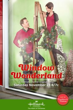 WINDOW WONDERLAND (2013) – With Christmas season fast approaching, department store window decorator Sloan Van Doren is hoping to take over the recently vacated, head window designer spot but finds she has to prove herself by going up against rival Jake Dooley. As the two compete they find they may have more in common than they think. @Andrew Senft Bell #Christmas #Holidays #Movies