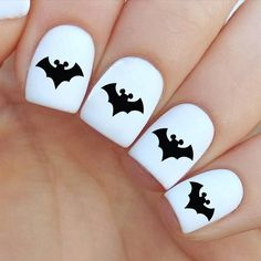 60pc Mickey Batman Nail Decal Halloween Nail by VitaBelloVogue for $3.79, Buy 2 get third of your choice for FREE.