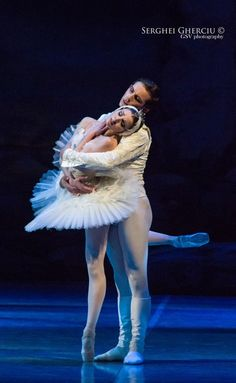 "Alina Nanu and Adam Zvonar, ""Swan Lake"", Czech National Ballet"