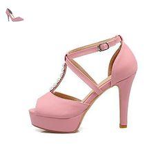 LvYuan-ggx Femme Chaussures à Talons Confort Polyuréthane Printemps Décontracté Talon Aiguille Noir Beige Rose 10 à 12 cm , beige , us6.5-7 / eu37 / uk4.5-5 / cn37