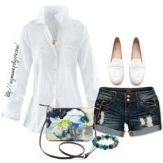 """A Walk on the Beach......."" by mzmamie on Polyvore"