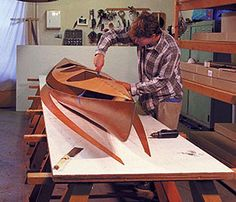 Wooden Kayak stitch and glue the deck seams Wood Canoe, Wooden Kayak, Canoe Boat, Kayak Boats, Kayak Camping, Canoe And Kayak, Sea Kayak, Boat Dock, Camping Stuff