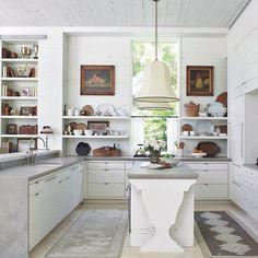 Beautifully styled white kitchen
