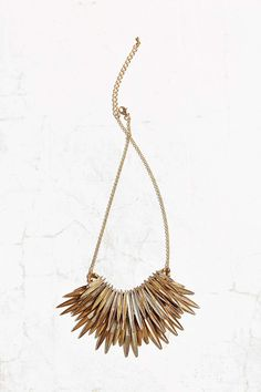 Burning Rays Statement Necklace Urban Outfittters