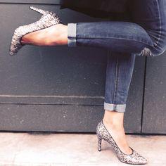 Mes escarpins glitter #nafnaf#paillettes#shoes#mode#blog#fashion#ootd#nafnafparis#nouvellecollection