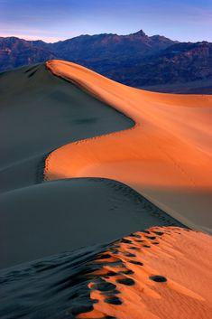 Death Valley sunrise, California