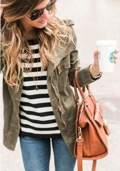 fall stitch fix style, Starbucks is part of my fashion statement lol