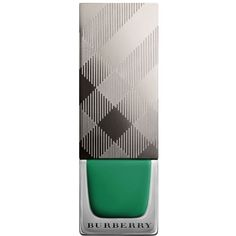 Burberry Nail Polish ($22) ❤ liked on Polyvore featuring beauty products, nail care, nail polish, nails, makeup, sage green, shiny nail polish, burberry nail polish and burberry
