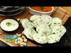 Quick Rava Idlis by Tarla Dalal - YouTube