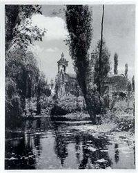 Xochimilco by Hugo Brehme