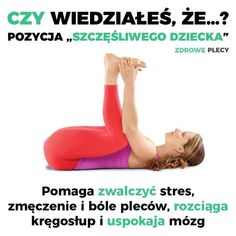 pozycja szczęśliwego dziecka Full Body Weight Workout, Whole Body Workouts, Body Workout At Home, Belly Fat Workout, At Home Workouts, Workout List, Prenatal Yoga, 30 Minute Workout, Strength Workout