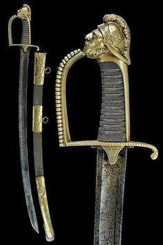 A general's sabre, Italy, ca 18th century.