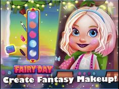 Fairy Day Dress Up Care TutoTOONS Educational Android İos Free Game GAME...