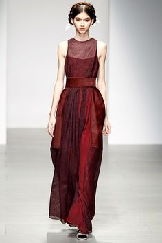 Bora Aksu Autumn/Winter 2014-15  Medea. Blood Red.