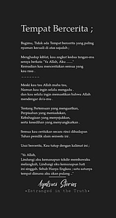 Quotes Rindu, Self Quotes, Mood Quotes, Hadith Quotes, Story Quotes, Life Quotes, Reminder Quotes, Self Reminder, Cinta Quotes