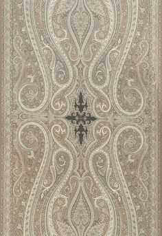 Schumacher Martyn Lawrence Bullard Pasha Paisley Stone (Sold by the panel which is long)