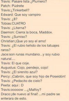 Frases de libros - Divergente - Wattpad JAJAJAJAJAJAJA NO MAMES, EL SIRENITO AZUL!!! No... Puedo...Con...Tanto JJAJAJA xDD
